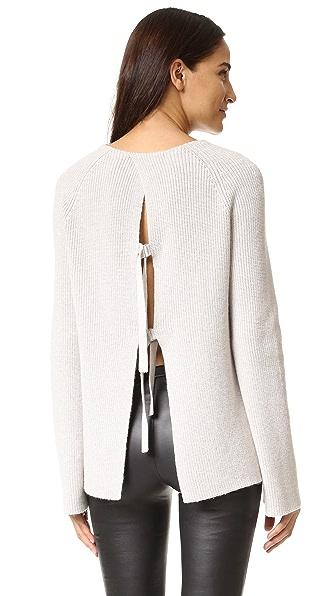Helmut Lang T Back Sweater - Agate