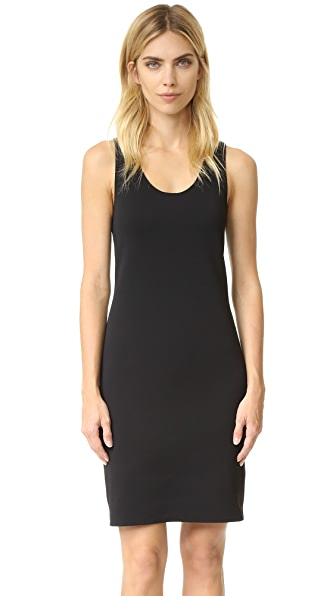 Helmut Lang Scuba Tank Dress - Black