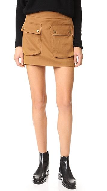 Helmut Lang Patch Pocket Miniskirt