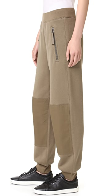 Helmut Lang Knee Patch Sweatpants