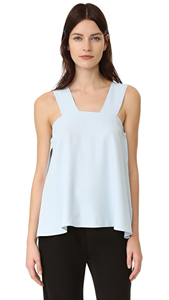 Helmut Lang Side Tie Blouse - Selenite