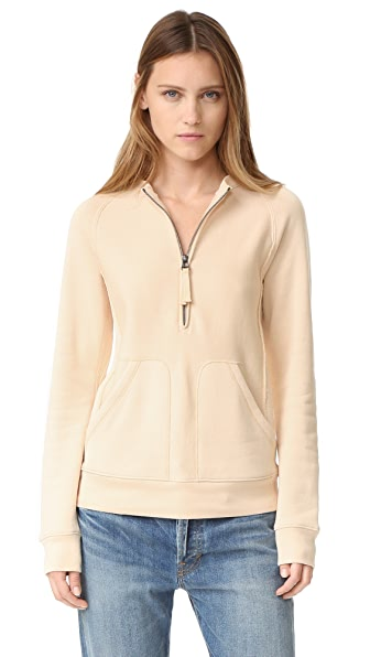Helmut Lang Terry Shrunken Sweatshirt - Patchouli