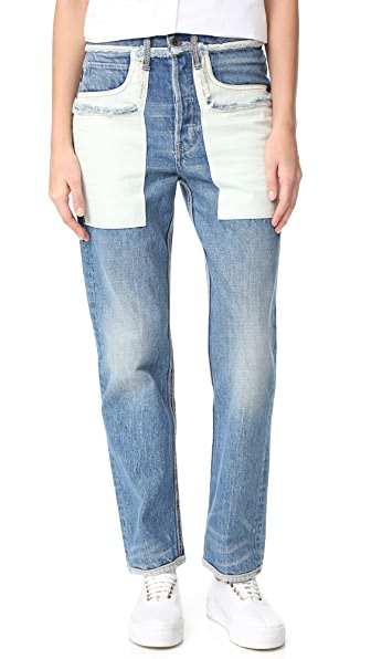 Helmut Lang Inside Out Jeans