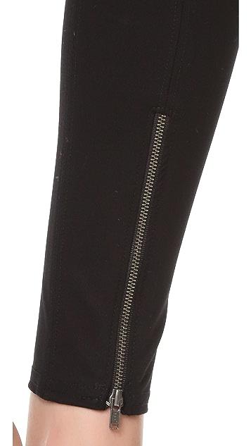 Helmut Lang Reflex Zip Leggings