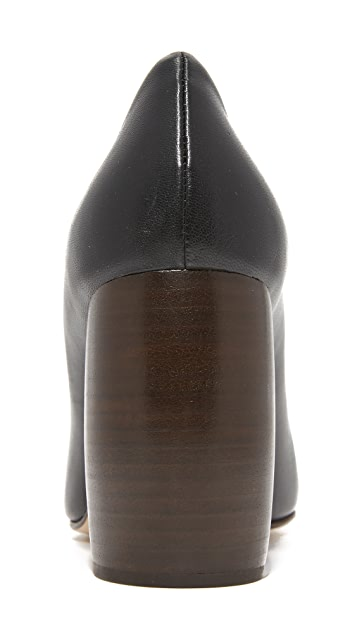 Helmut Lang Bombe Pumps
