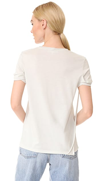 Helmut Lang Strappy T Shirt