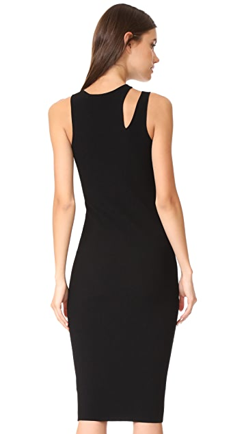 Helmut Lang Slash Rib Dress