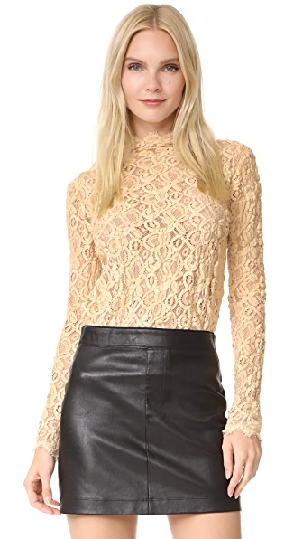 Helmut Lang Lace Top