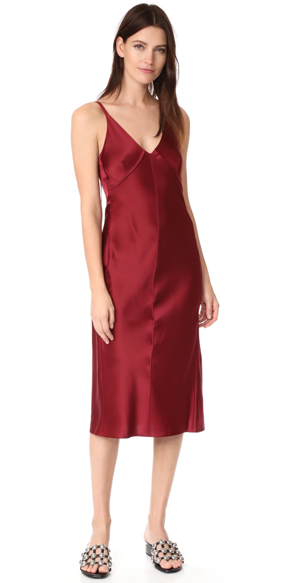 Deconstructed Slip Dress Helmut Lang