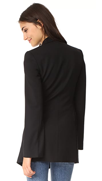 Helmut Lang Deconstructed Long Blazer
