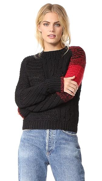 Helmut Lang Punk Patchwork Sweater