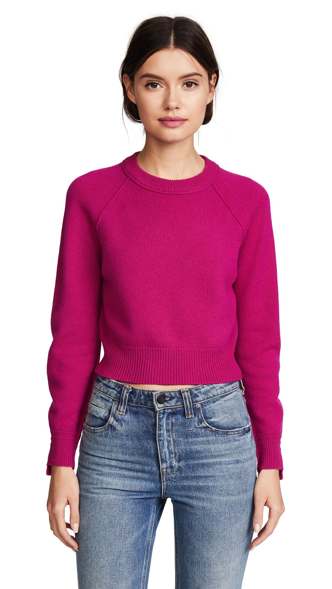 Helmut Lang Cashmere Sweater - Magenta