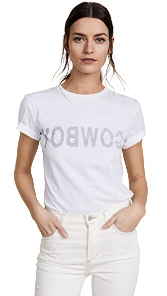 Helmut Lang RE-EDITION Cowboy T-Shirt In White
