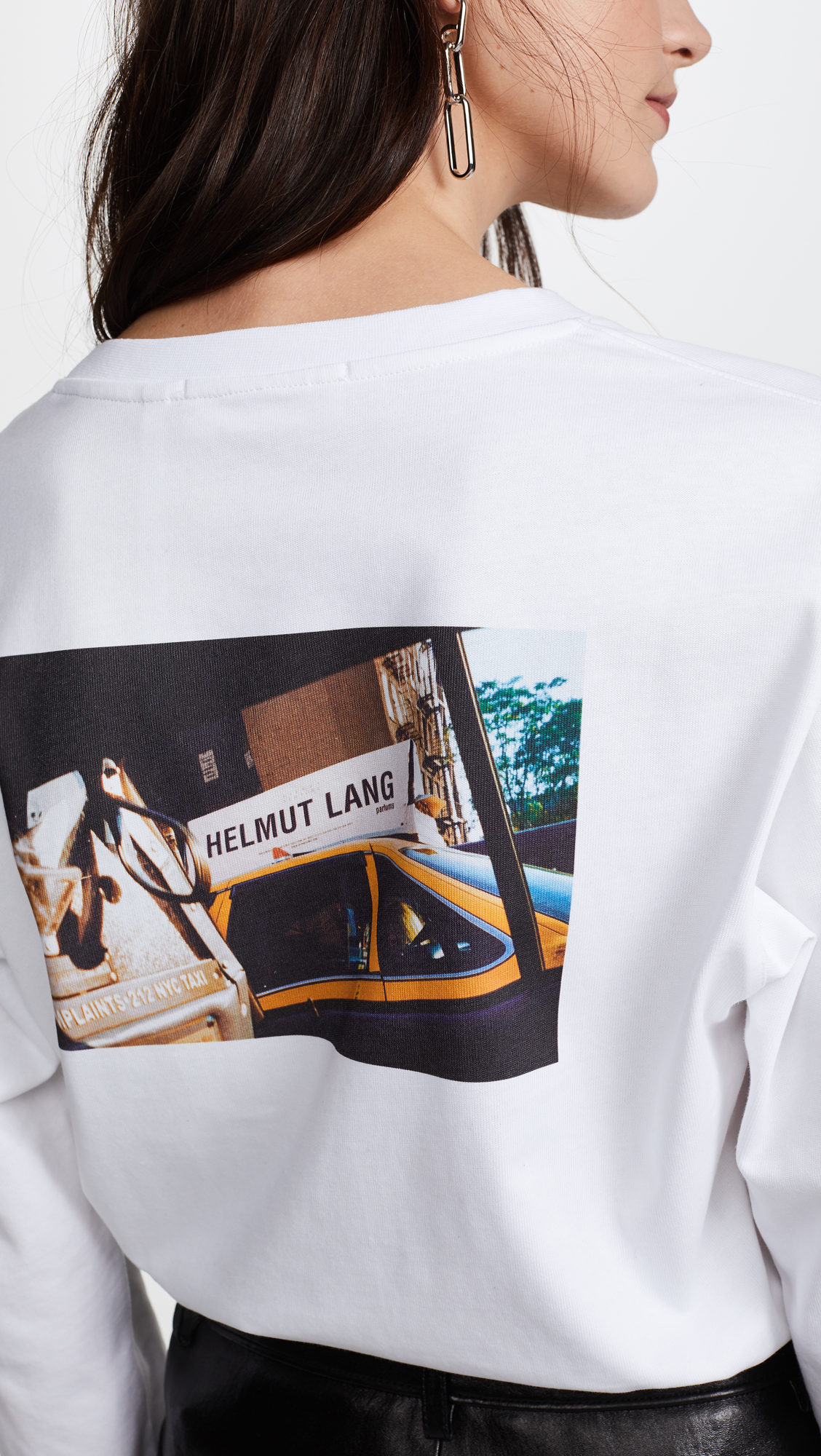 753cd06b012ea6 Helmut Lang Long Sleeve Taxi T-Shirt