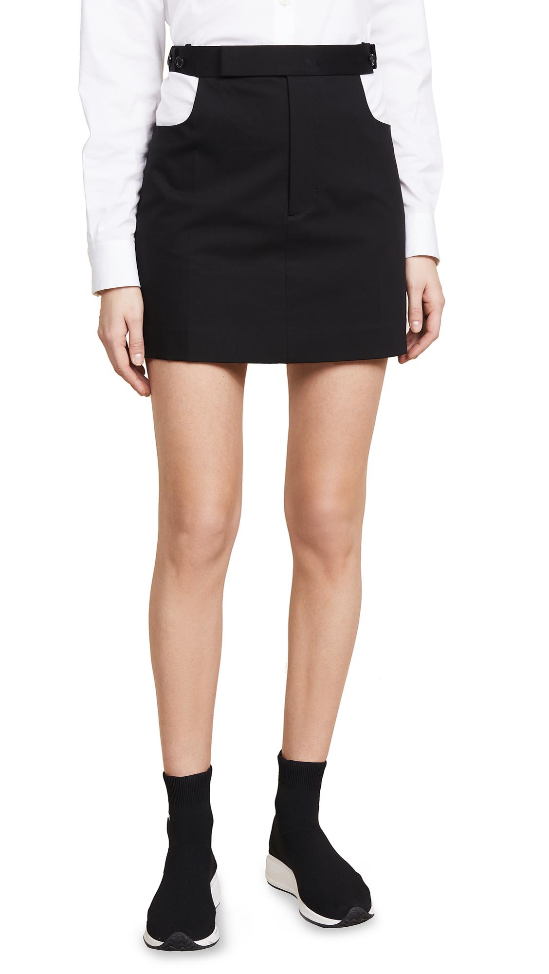 Helmut Lang Cutout Skirt - Black