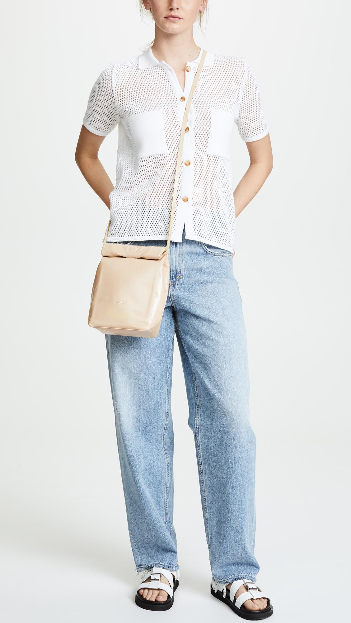 537e8174d8e8 Helmut Lang Mini Fold Over Cross Body Bag | SHOPBOP