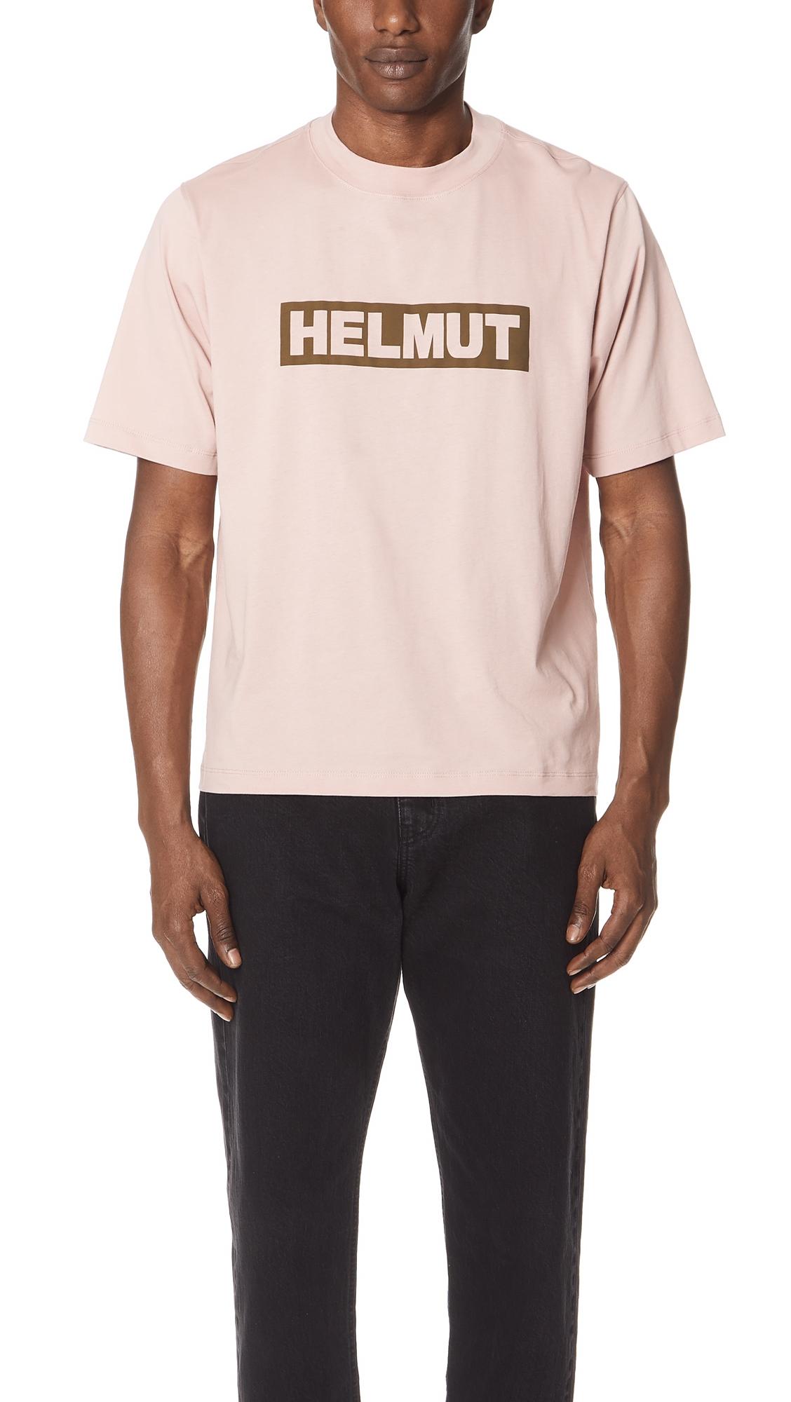 Helmut Logo Tall Tee, Desert Rose