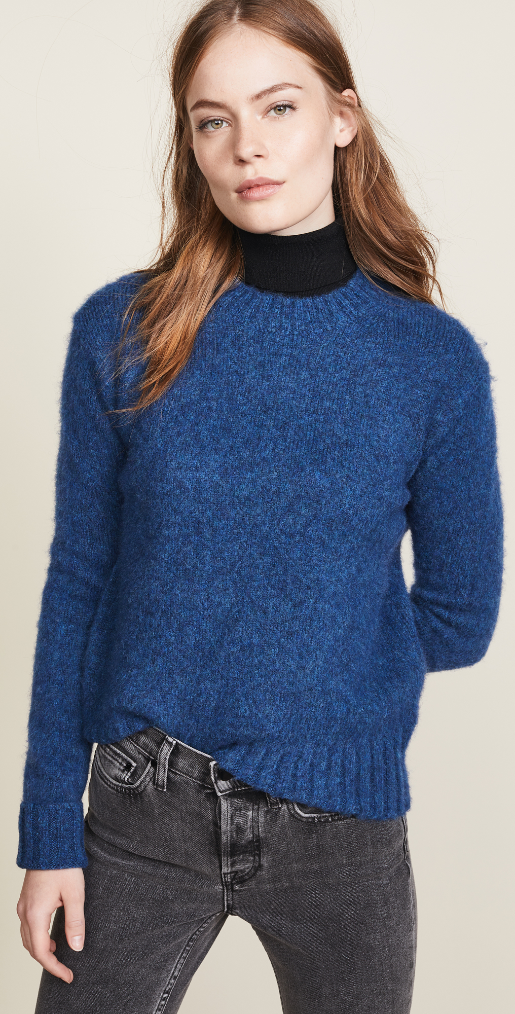 Helmut Lang Brushed Crew Neck Sweater | SHOPBOP | New To