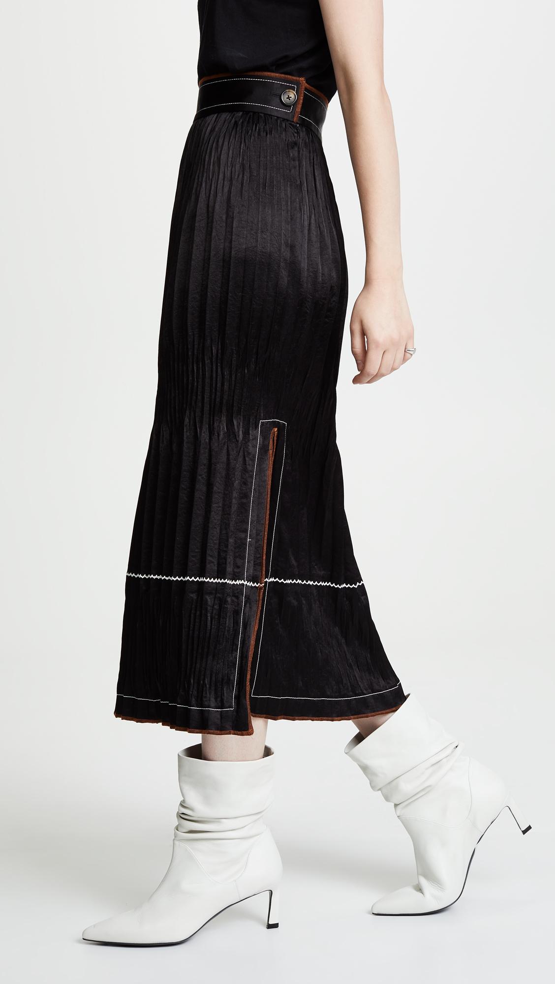 e7ac207691 Helmut Lang Crinkle Pleated Skirt | SHOPBOP