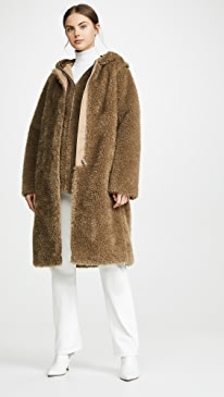 ce43814ccbd2 Leopard Jacket. $1,320.00 $1,320.00 $1,320.00. 167DC like it. Helmut Lang.  Detachable Linear Faux Fur Coat