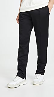 Helmut Lang Zip Away Jersey Track Pants