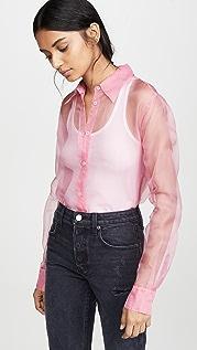 Helmut Lang Organza Shirt