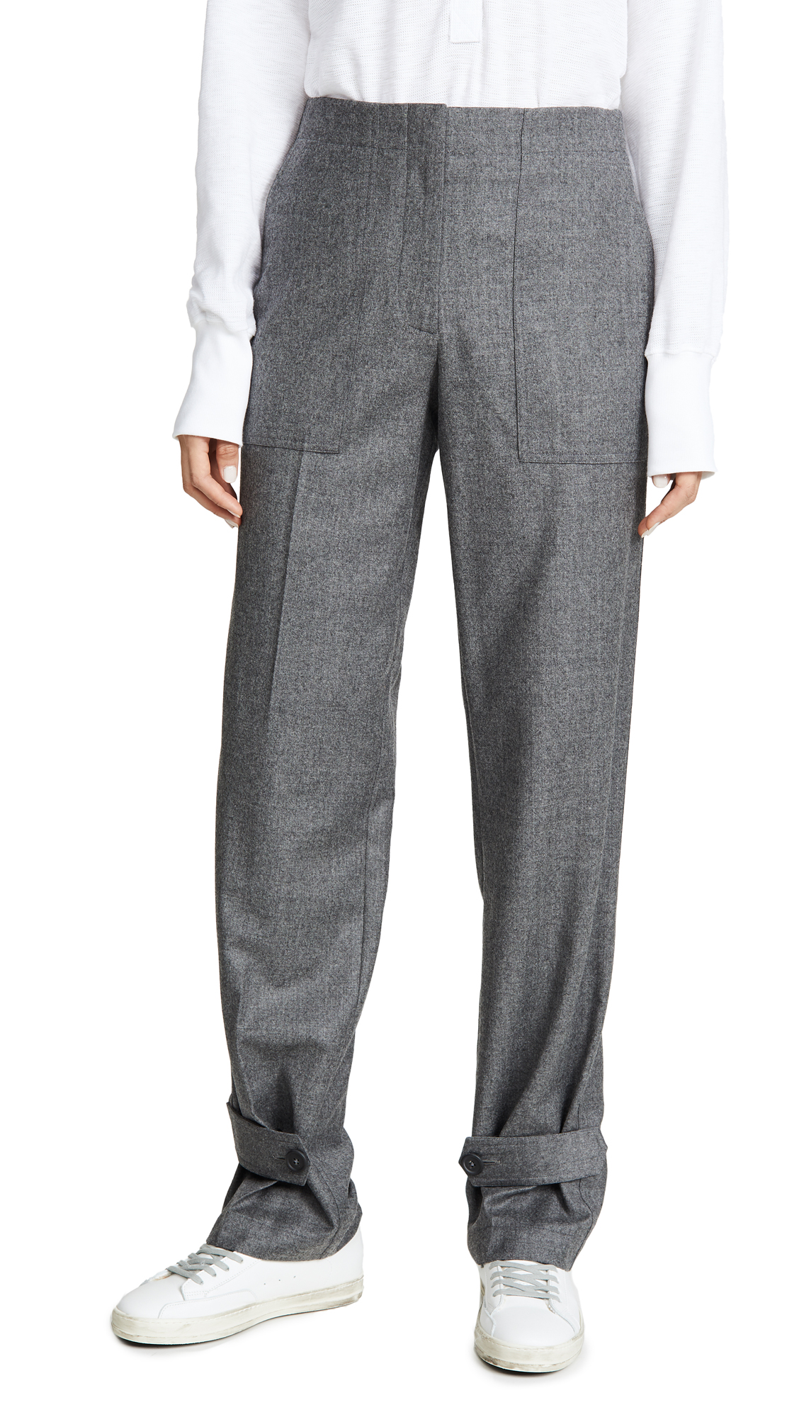 Buy Helmut Lang online - photo of Helmut Lang Flannel Military Pants