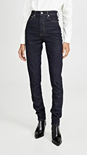 Helmut Lang Femme Hi Spikes Jeans