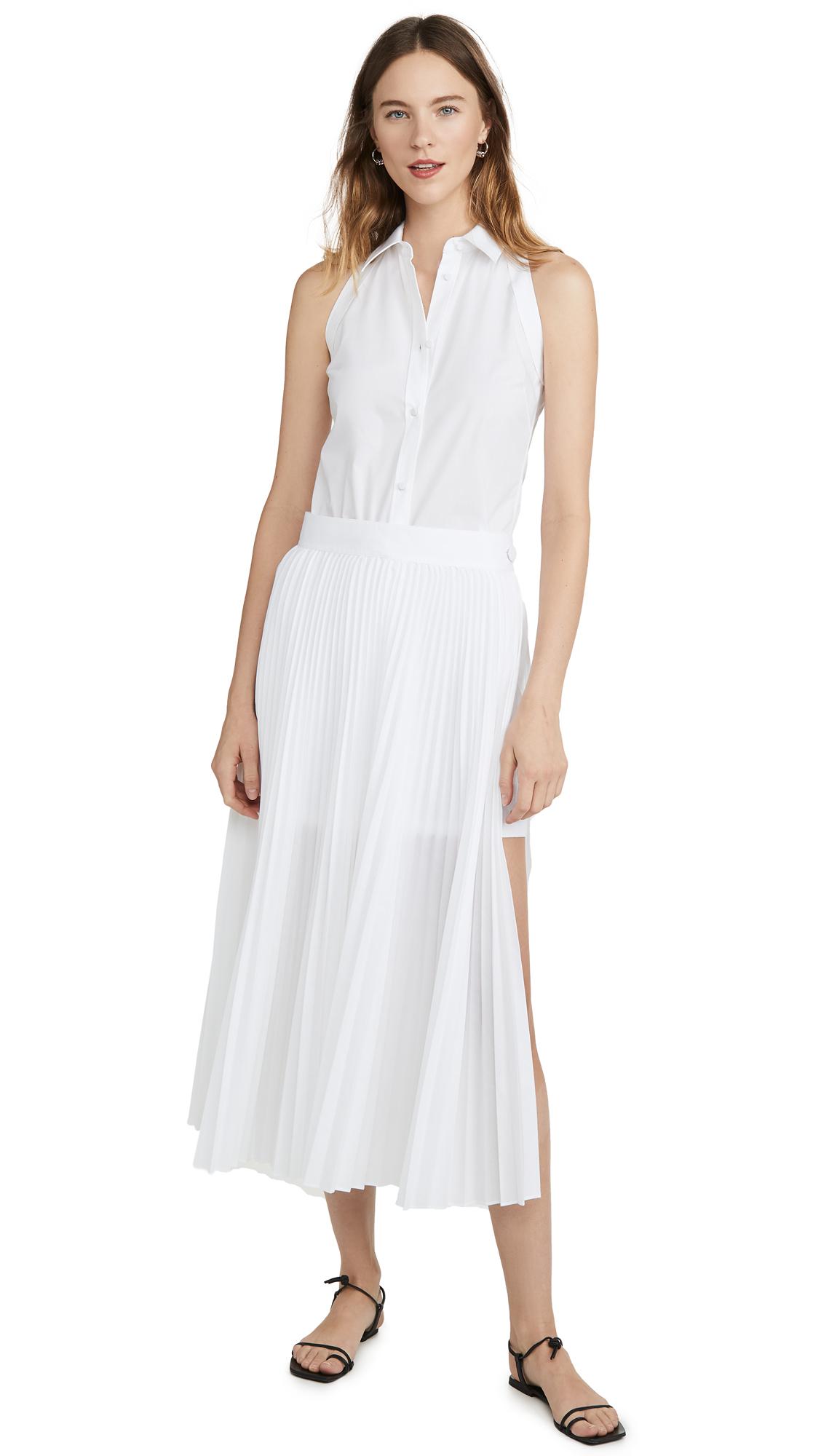 Buy Helmut Lang Cotton Pleated Dress online beautiful Helmut Lang Clothing, Dresses