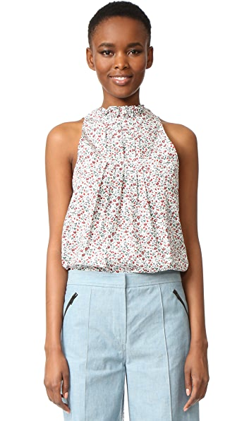Hellessy Amo Floral Print Top