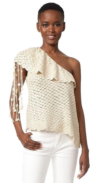 Hellessy Capri Knit One Shoulder