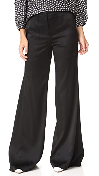 Hellessy Patton Flare Pants - Black