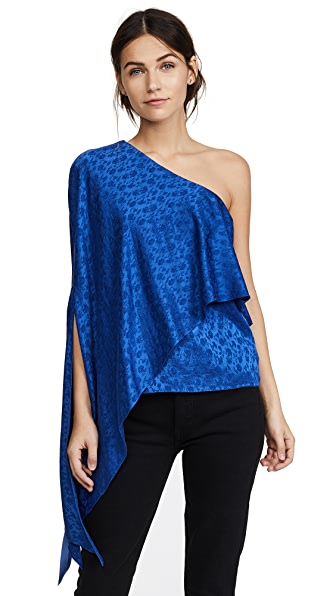 Hellessy Xenia Off Shoulder Cape Top at Shopbop