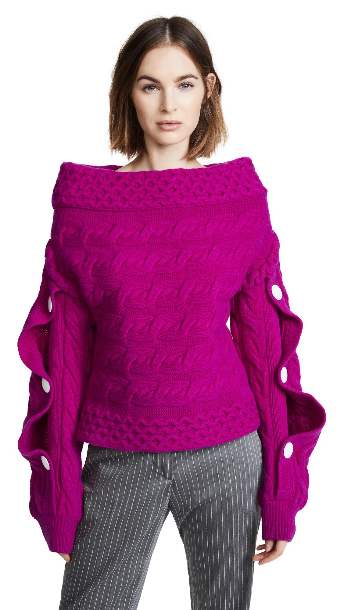 HELLESSY Dorian Sweater in Fuschia