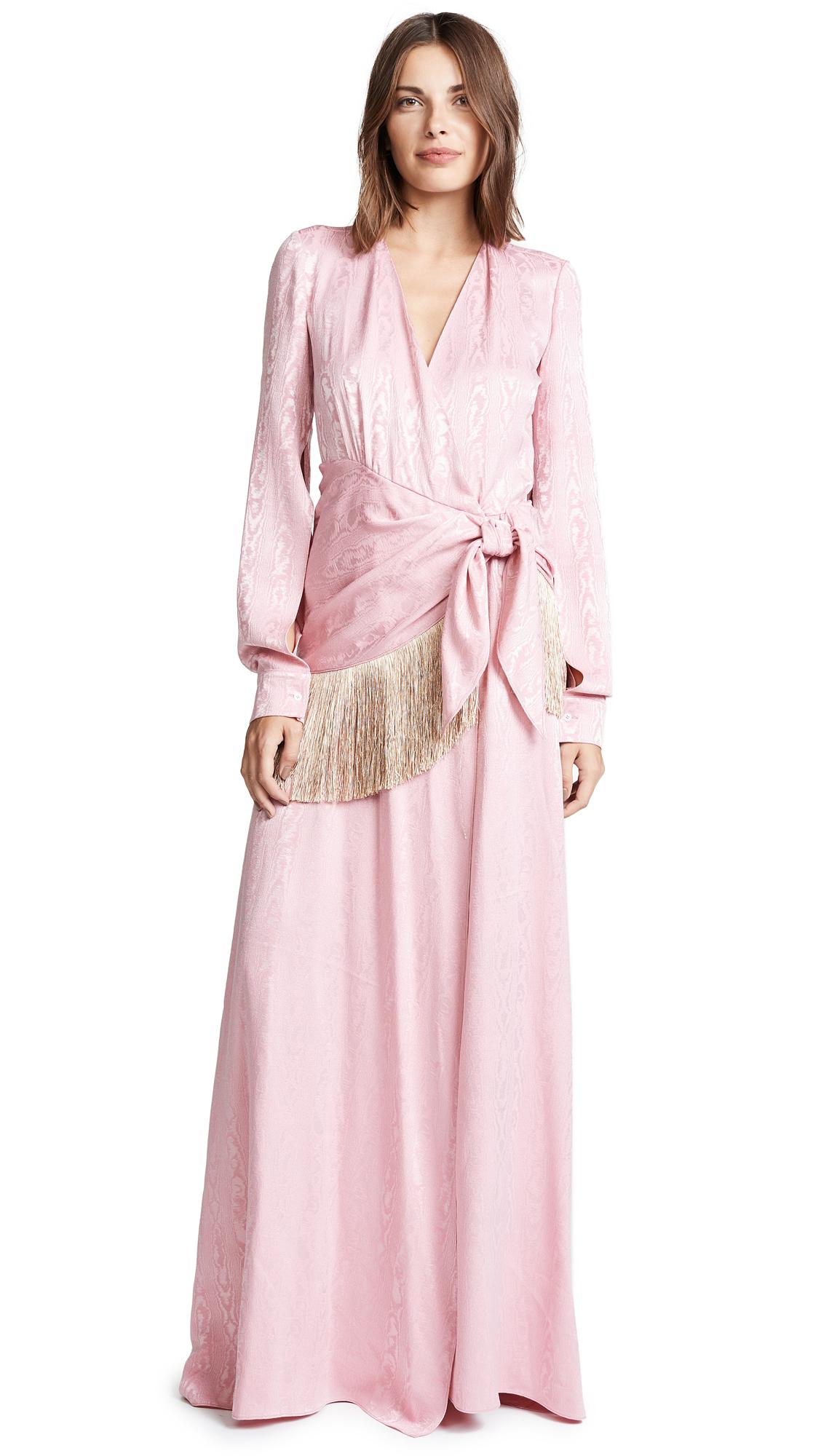 HELLESSY EMERSON WRAP DRESS