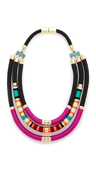 Holst + Lee Tribal Tri Strand Necklace