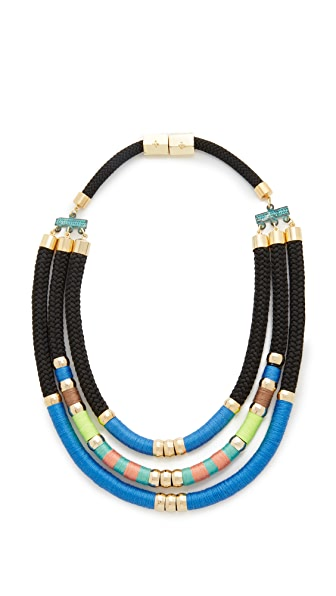 Holst + Lee Day at the Beach Tri Strand Necklace