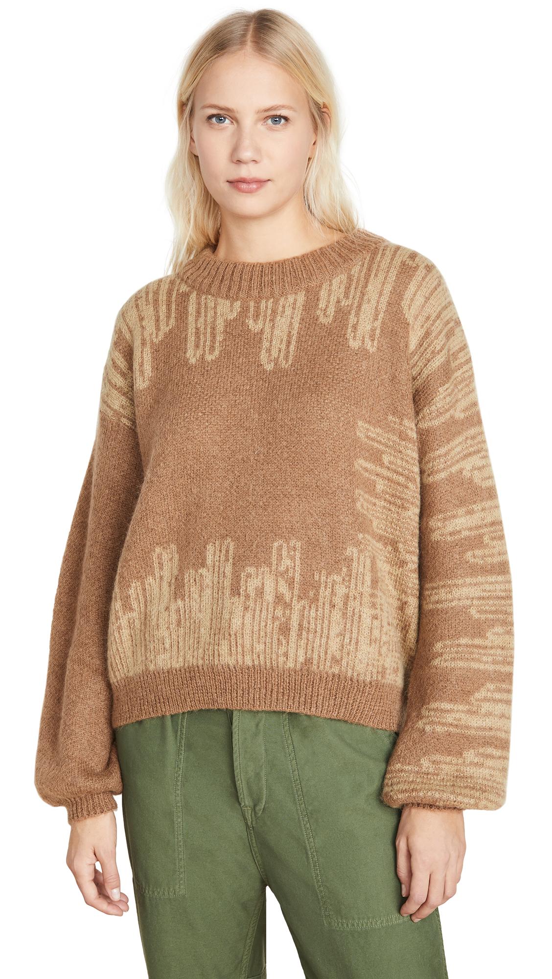 Buy HOLZWEILER online - photo of HOLZWEILER Wenge Alpaca Sweater