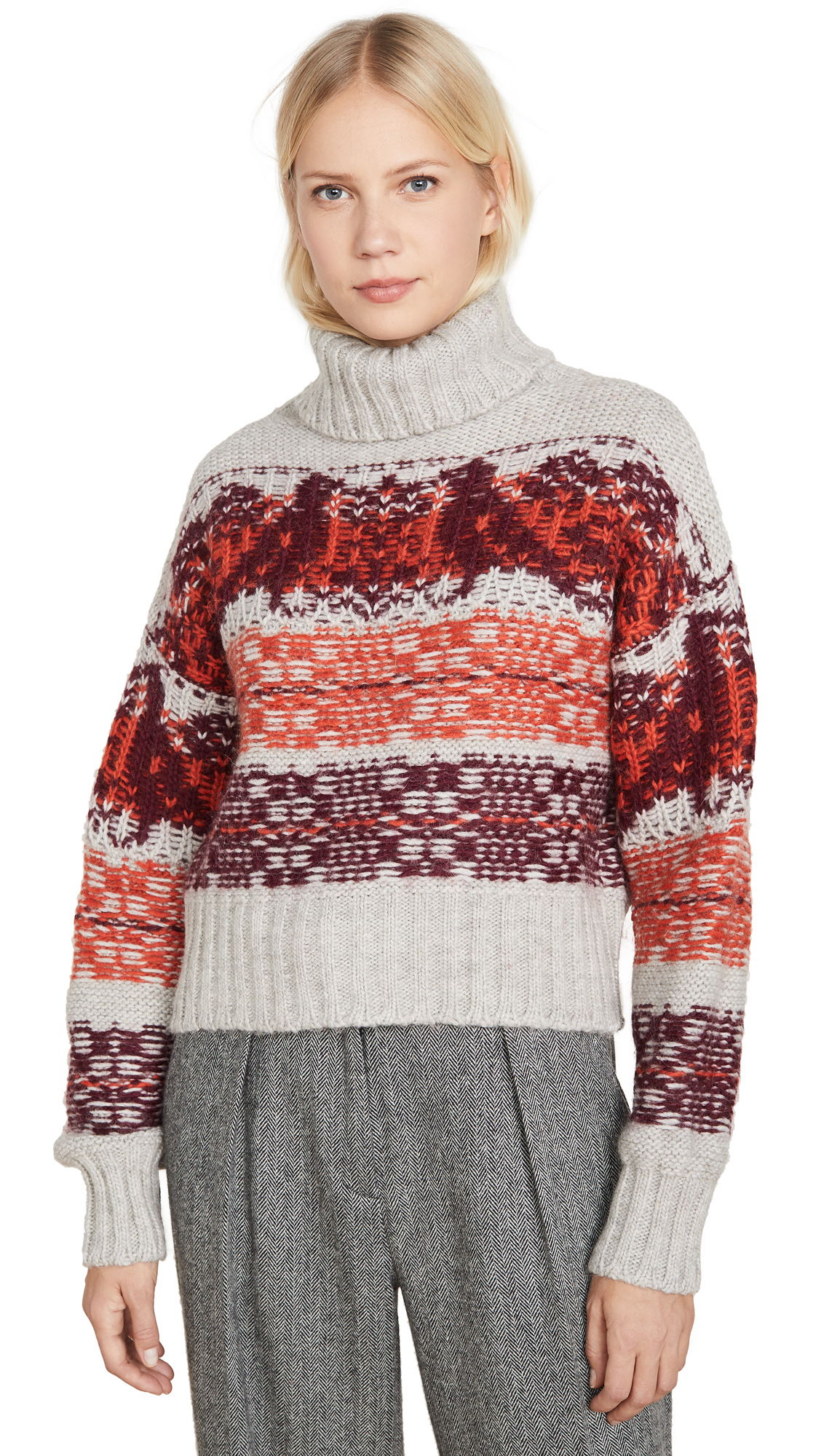 Buy HOLZWEILER online - photo of HOLZWEILER Cropped Knit Sweater