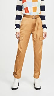 HOLZWEILER Skunk Polyester Trousers