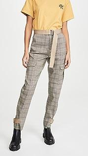 HOLZWEILER Комбинированные брюки Skunk
