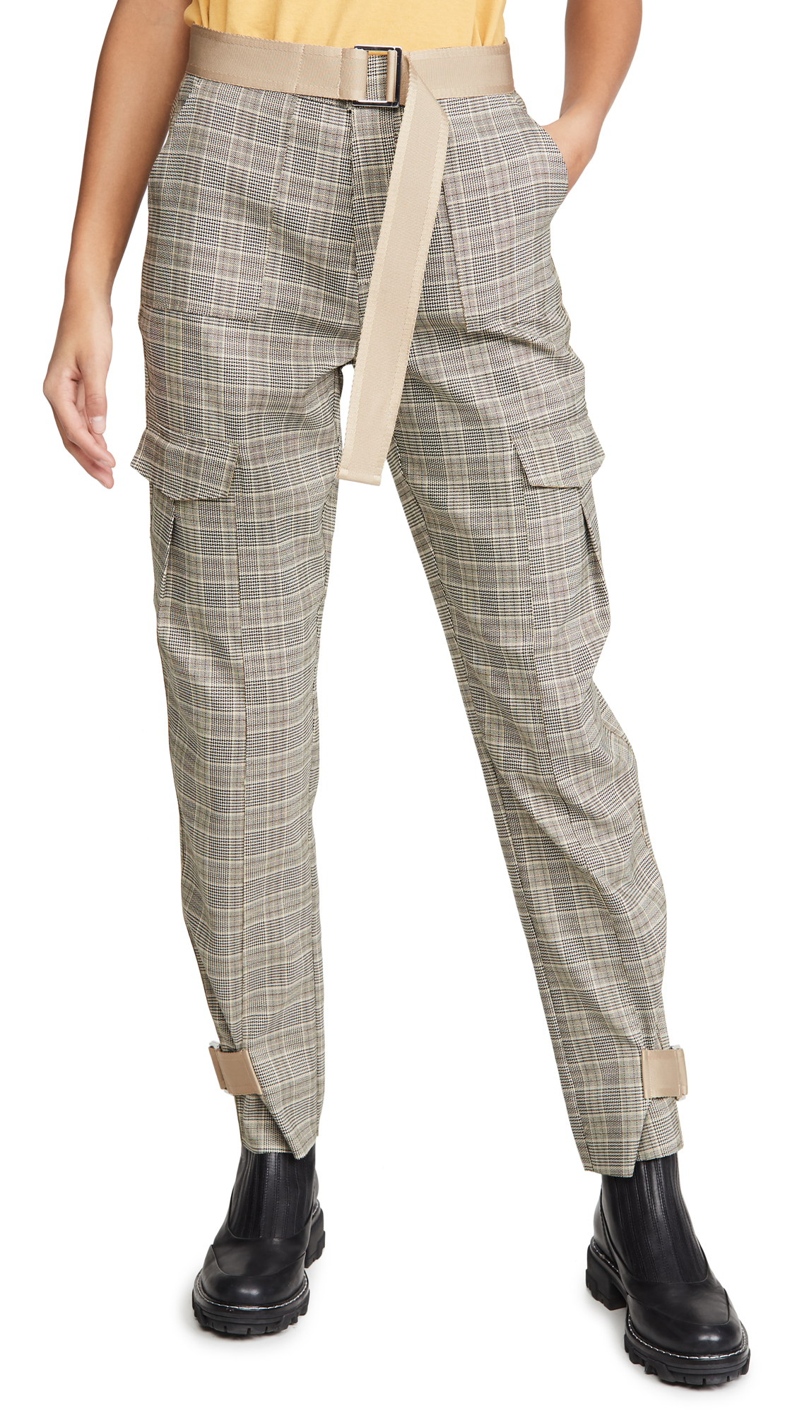 Buy HOLZWEILER online - photo of HOLZWEILER Skunk Mix Trousers