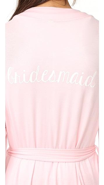 Honeydew Intimates Bridesmaid Robe