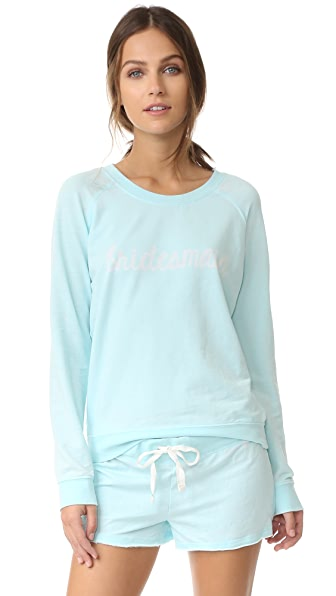 Honeydew Intimates Bridesmaid Sweatshirt - Something Blue