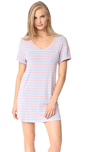 Honeydew Intimates All American Sleepshirt - Cameo Stripe