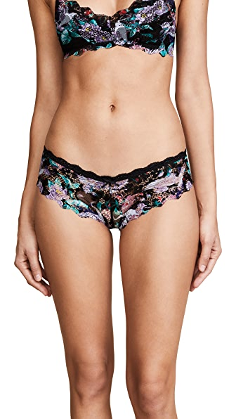 Honeydew Intimates Camellia Lace Hipster Briefs In Crane Floral