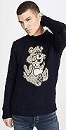 Howlin' Mohair Bear Sweater