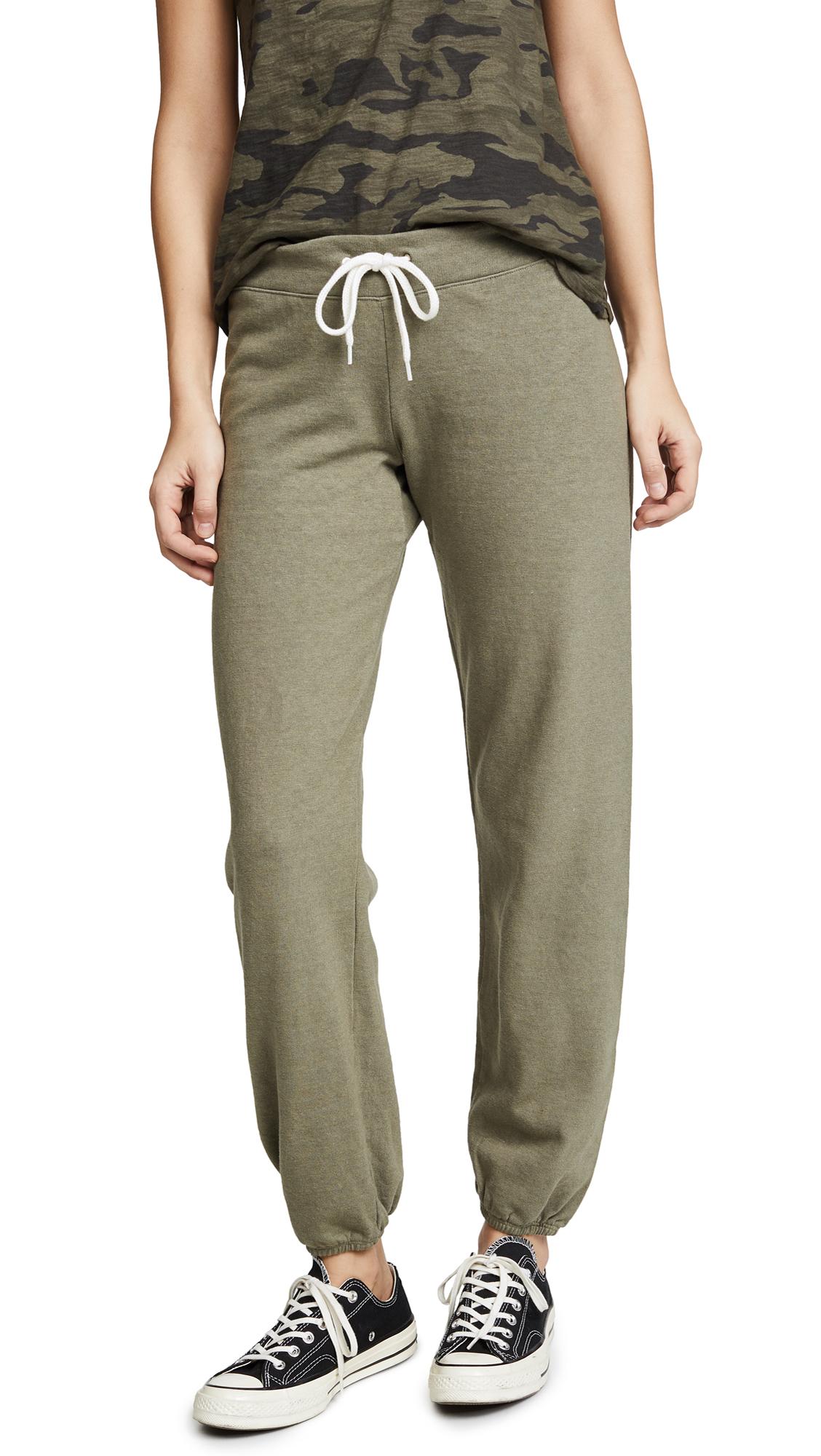 MONROW Vintage Sweatpants - Army