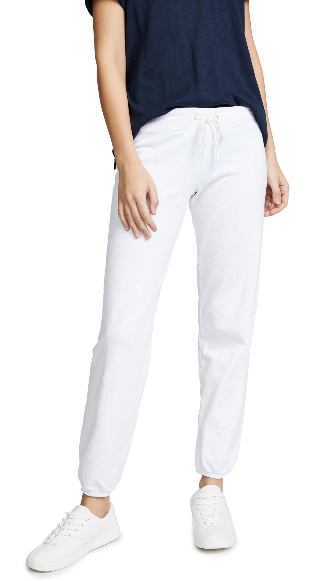 MONROW Vintage Sweatpants - White