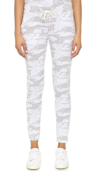 MONROW Neutral Camo Sporty Sweatpants